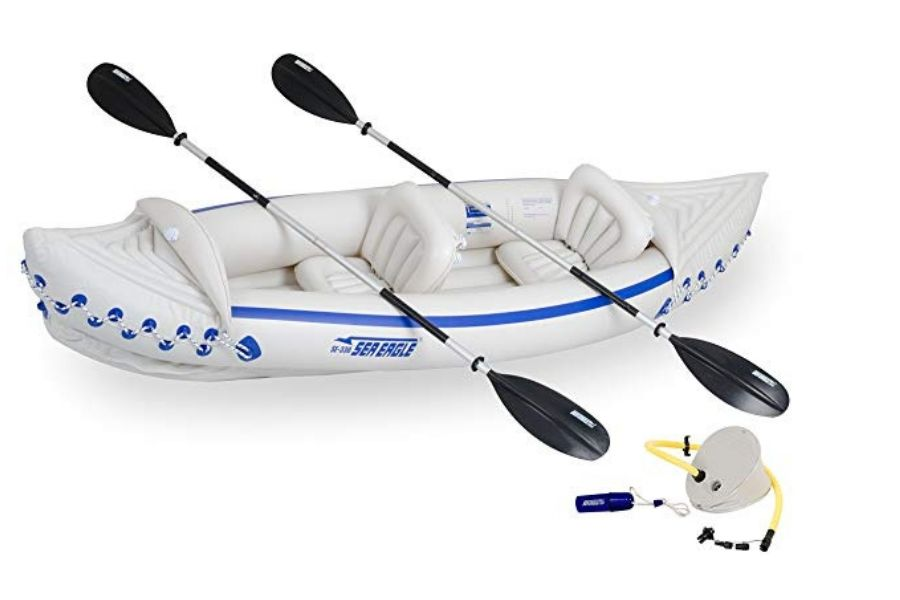Sea Eagle Pro Package Inflatable Fishing Kayak